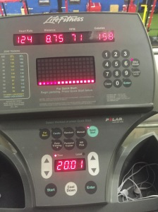Faceless Fitness Day 14 Cardio